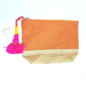 Shiraleah Maya Clutch Cosmetic Bag w. Tassel